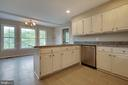 Updated kitchen with new granite and appliances - 23210 DOVER RD, MIDDLEBURG