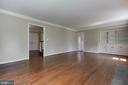 Built in cabinets in family room - 23210 DOVER RD, MIDDLEBURG