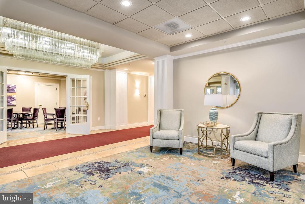 Newly updated Riverview Lobby - 19355 CYPRESS RIDGE TER #416, LEESBURG