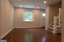 Living Room - 3307 NE AMES ST NE, WASHINGTON