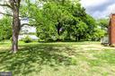Large Flat Back and Side Yard - 5469 DAWES AVE, ALEXANDRIA
