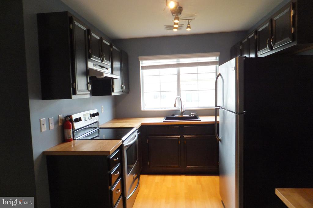 Kitchen as viewed from dining area - 1134 HUNTMASTER TER NE #302, LEESBURG