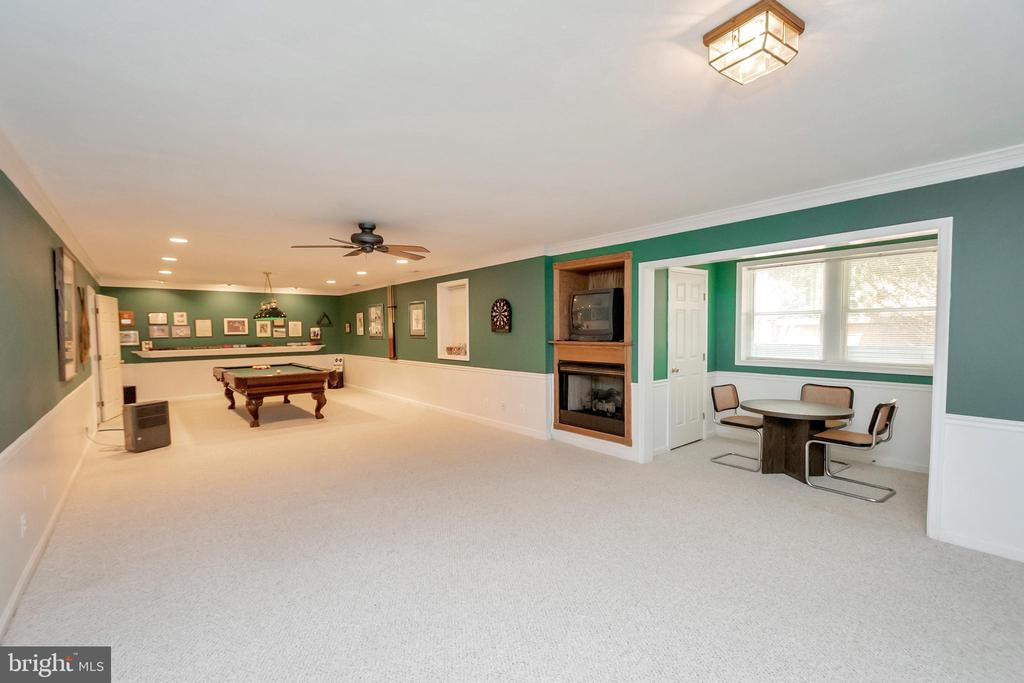 Basement offers a fun family room - 11325 FAWN LAKE PKWY, SPOTSYLVANIA