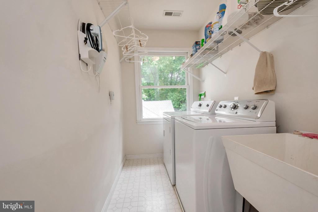 Laundry room is convenient - 11325 FAWN LAKE PKWY, SPOTSYLVANIA
