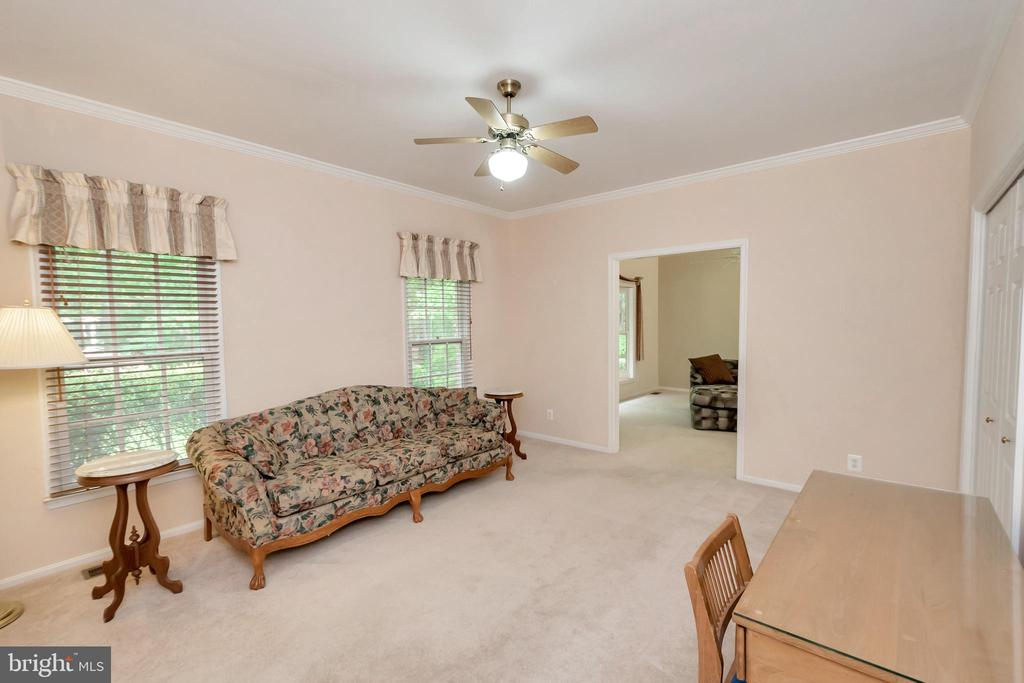 In Law or guest suite has living room - 11325 FAWN LAKE PKWY, SPOTSYLVANIA