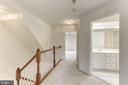 Upper level Hall Bathroom - 8033 KIDWELL HILL CT, VIENNA