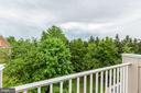 Beautiful View from 4rth Level Loft - 8033 KIDWELL HILL CT, VIENNA