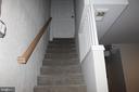 lower level stairs - 3307 NE AMES ST NE, WASHINGTON