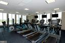Amenities---Fitness Center - 851 N GLEBE RD #320, ARLINGTON