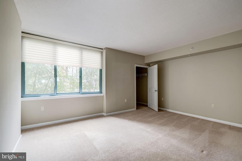 Master Bedroom with 2 walk-in closets - 851 N GLEBE RD #320, ARLINGTON