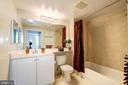 En-suite Bathroom #2 - 851 N GLEBE RD #320, ARLINGTON