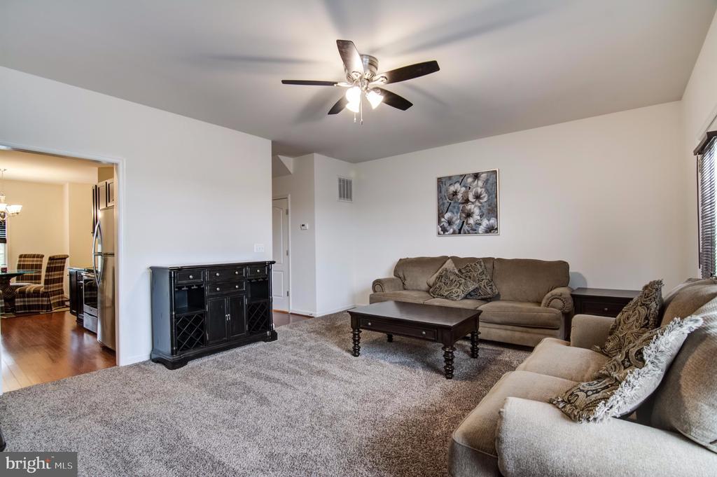 Living Room - 7141 DURRETTE RD, RUTHER GLEN