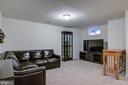 Basement Family Room - 7141 DURRETTE RD, RUTHER GLEN