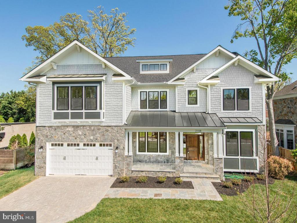 Custom new home build comparable to 7316 Reddfield - 7316 REDDFIELD CT, FALLS CHURCH
