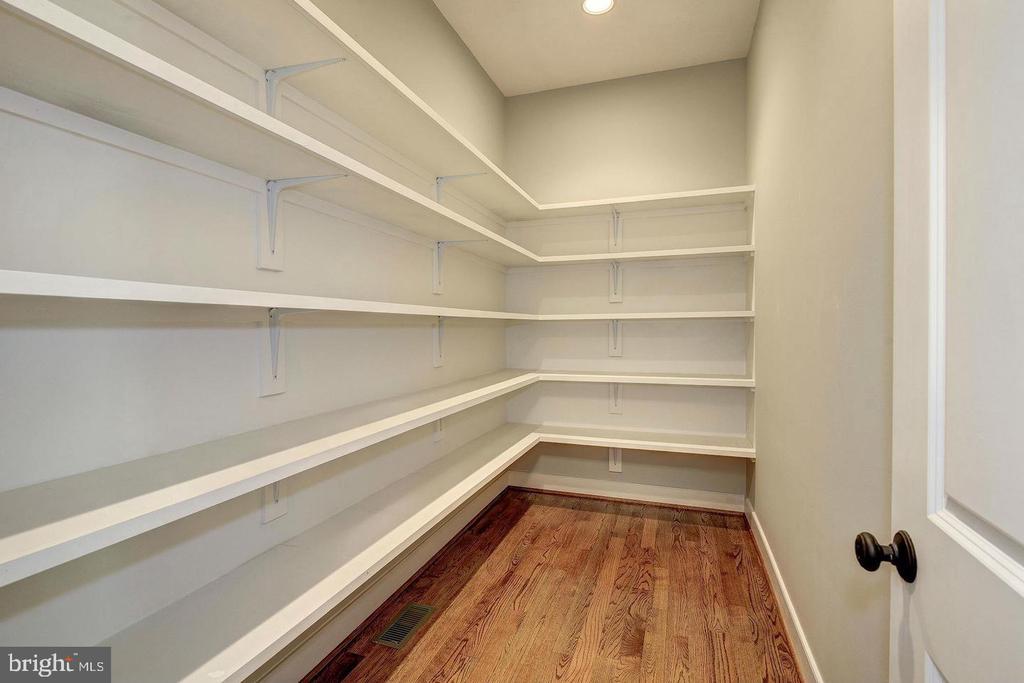 Master bedroom closet - 7316 REDDFIELD CT, FALLS CHURCH