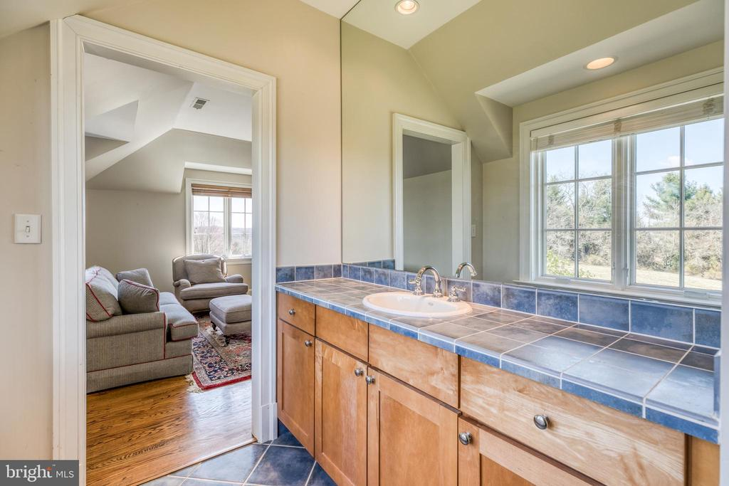Bath 3 - shared with two sinks, walk-in shower - 2200 GADD RD, COCKEYSVILLE