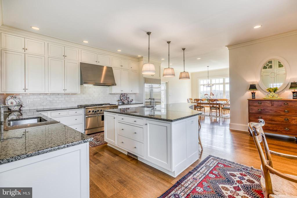 Gourmet Kitchen - the heart of this home - 2200 GADD RD, COCKEYSVILLE