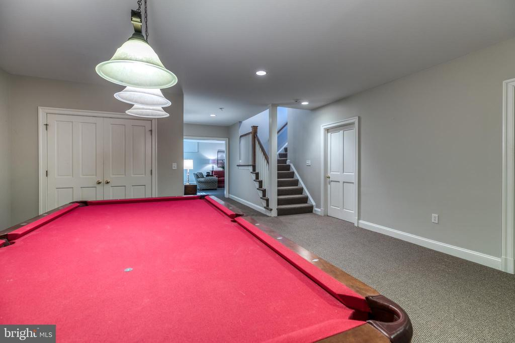 Basement Game Room adjacent to Fitness Room - 2200 GADD RD, COCKEYSVILLE