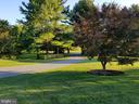 Long private driveway from scenic Gadd Road - 2200 GADD RD, COCKEYSVILLE