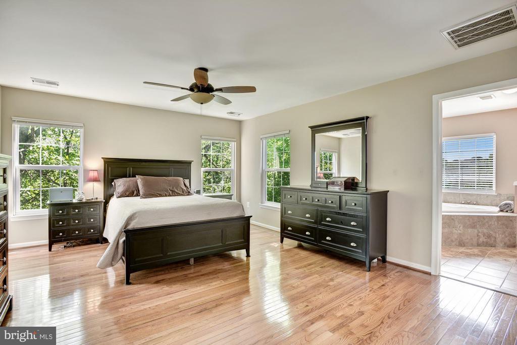 Master Bedroom Suite - 43266 MEADOWOOD CT, LEESBURG