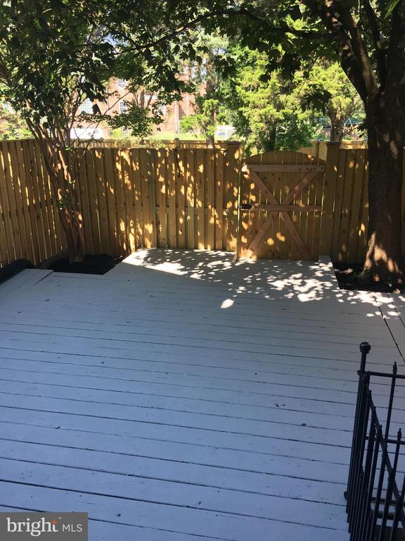 Deck with no furniture - 4668 36TH ST S #B, ARLINGTON