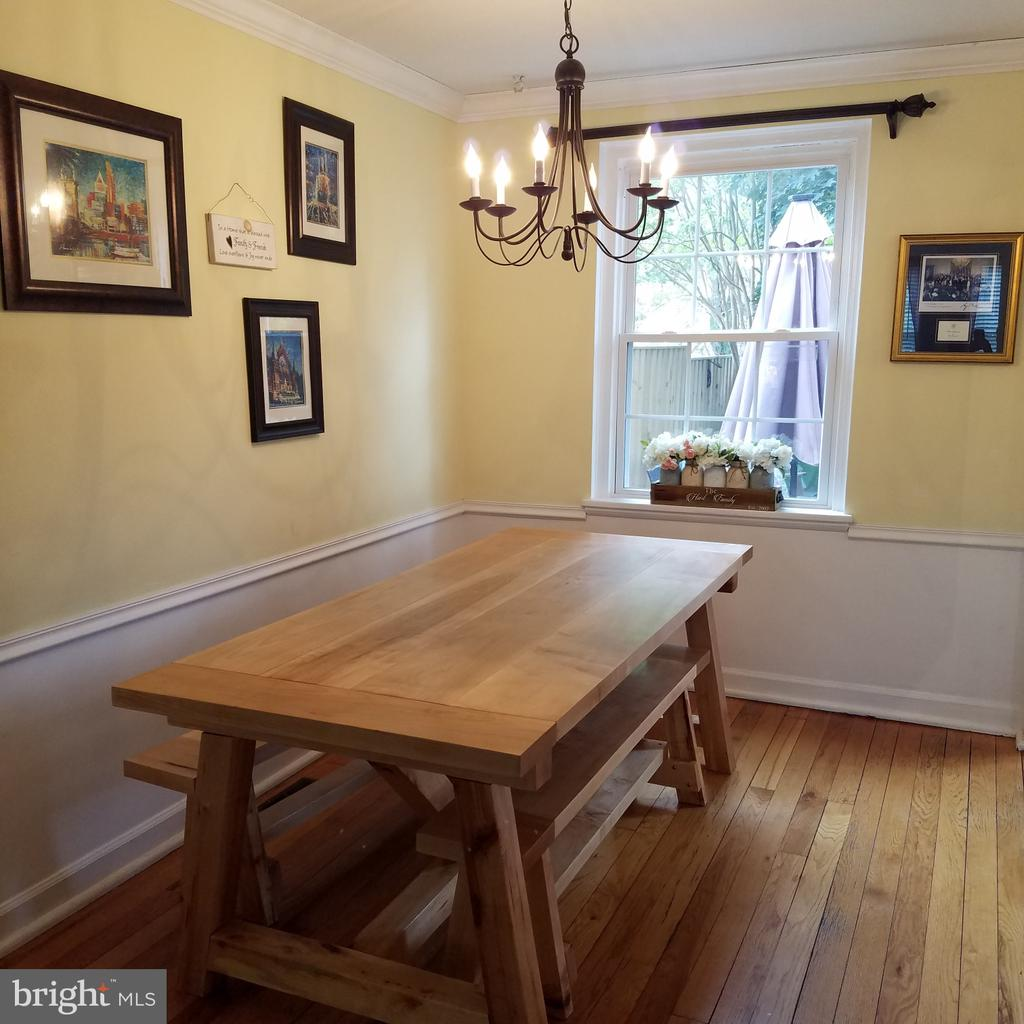 Dining with chair railing - 4668 36TH ST S #B, ARLINGTON