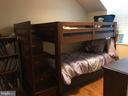 2nd bedroom currently set up with twin bunks - 4668 36TH ST S #B, ARLINGTON