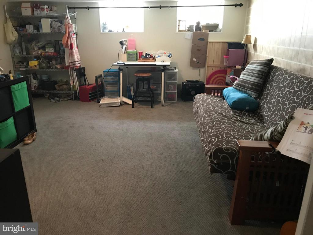 Another view of family room/ current tenants - 4668 36TH ST S #B, ARLINGTON