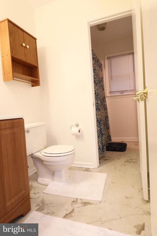 Hall Half Bath - 6013 WINDSOR DR, FREDERICKSBURG