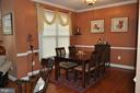 Dining room with natural light. - 1503 S OAKLAND ST, ARLINGTON