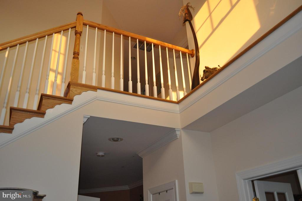 Open foyer and staircase with lots of sunshine. - 1503 S OAKLAND ST, ARLINGTON