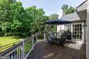 New Deck with 2 New Sliding Doors - 21384 CLAPPERTOWN DR, ASHBURN