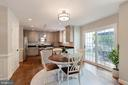 Custom molding throughout - 21384 CLAPPERTOWN DR, ASHBURN