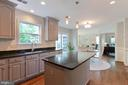 Updated cabinets and hardware - 21384 CLAPPERTOWN DR, ASHBURN