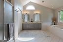 Master Bath - 21384 CLAPPERTOWN DR, ASHBURN