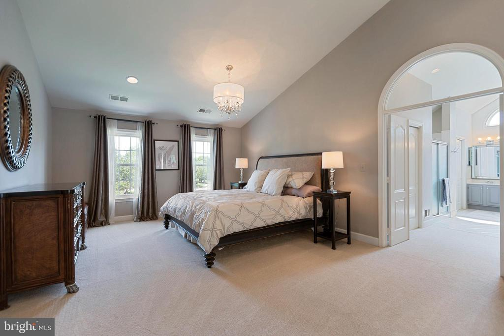 A true Master Suite - 21384 CLAPPERTOWN DR, ASHBURN