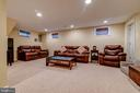 Rec Room with Full Bath - 3119 LAKE AVE, CHEVERLY