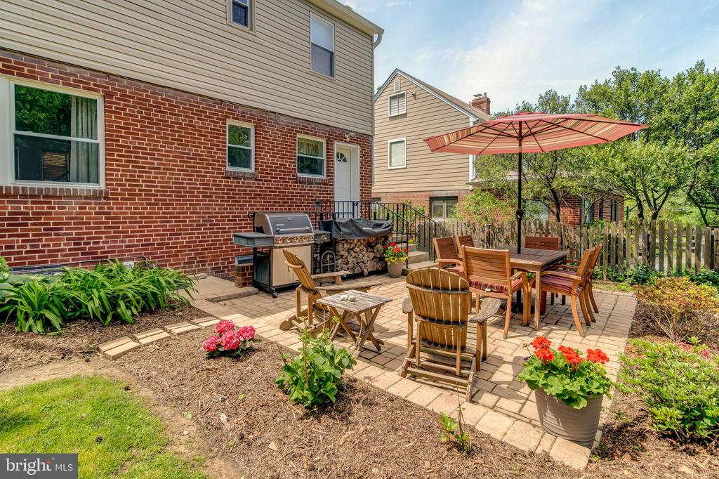 Patio and Back of House - 3119 LAKE AVE, CHEVERLY