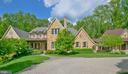 French Country style Stone and brick custom home. - 203 CARRWOOD RD, GREAT FALLS