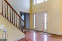 large open foyer with recent paint - 125 WALNUT FARMS PKWY, FREDERICKSBURG