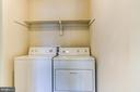 upstairs laundry, washer and dryer to convey - 125 WALNUT FARMS PKWY, FREDERICKSBURG