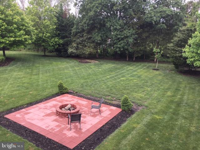 Firepit in the spring - 42760 RIDGEWAY DR, BROADLANDS