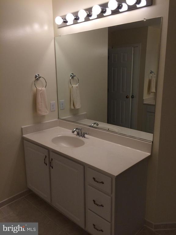 Second master bath vanity - 12302 HUNGERFORD MANOR CT, MONROVIA