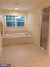 Master bath soaking tub and shower entrance - 12302 HUNGERFORD MANOR CT, MONROVIA