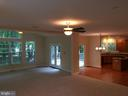 View from family room - 12302 HUNGERFORD MANOR CT, MONROVIA