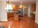 Kitchen w/new granite counters & S.S. appliances - 12302 HUNGERFORD MANOR CT, MONROVIA