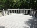 Beautiful composite deck! - 12302 HUNGERFORD MANOR CT, MONROVIA