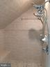 Master bath walk-in shower w/new marble floor - 12302 HUNGERFORD MANOR CT, MONROVIA