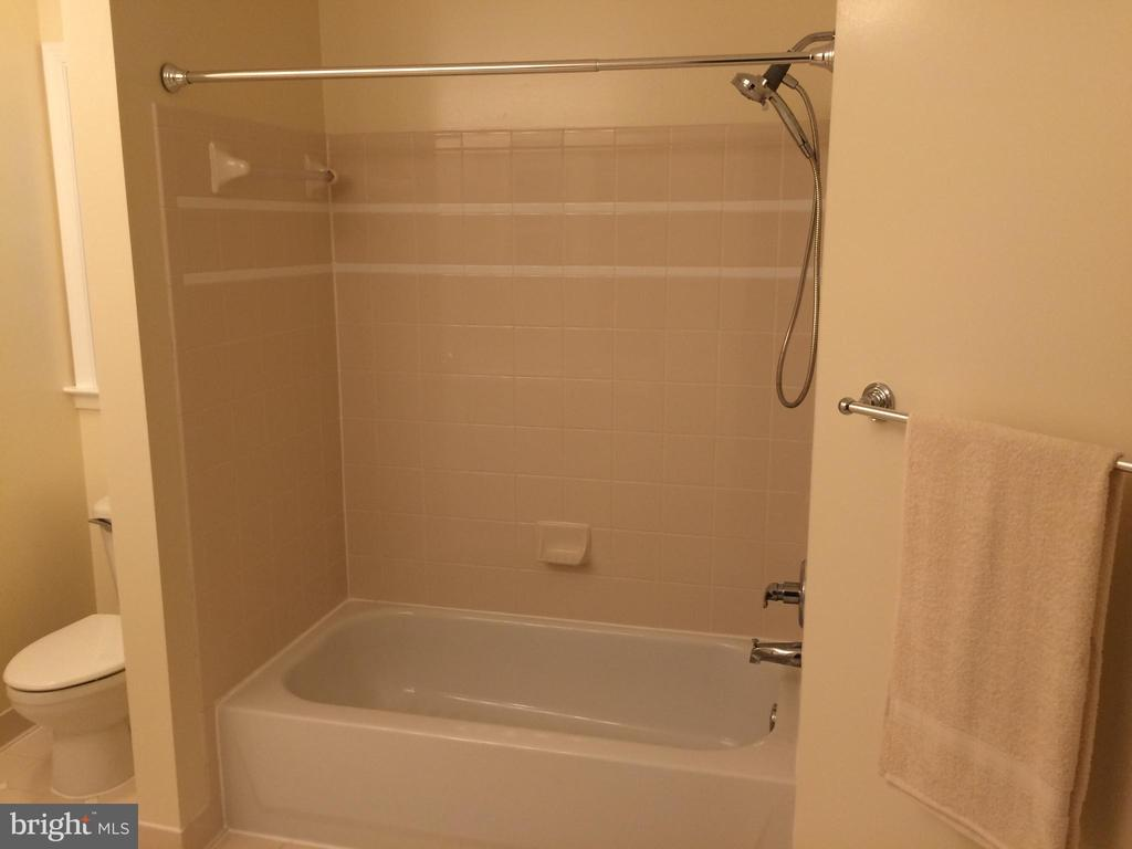 Second full bath with new Moen shower head - 12302 HUNGERFORD MANOR CT, MONROVIA