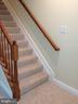 Back stairs - 12302 HUNGERFORD MANOR CT, MONROVIA